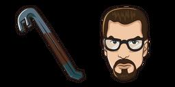 Half-Life Gordon Freeman Crowbar Curseur