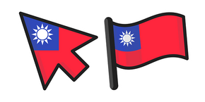 Taiwan Flag Cursor