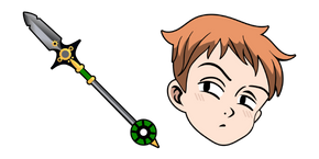 The Seven Deadly Sins King Spirit Spear Cursor