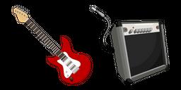 Electric Guitar Cursor