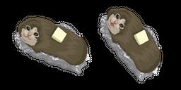 Baked Potato Cat Curseur