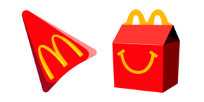 McDonald's Happy Meal Cursor