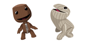 Курсор LittleBigPlanet Sackboy and Oddsock