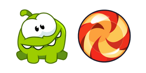Cut the Rope Om Nom and Candy Curseur