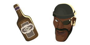 Team Fortress 2 Demoman Curseur