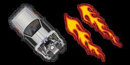 DeLorean DMC-12 Back to the Future Cursor