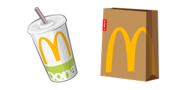 McDonald's Cola and Package Cursor