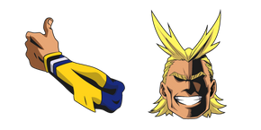 Курсор My Hero Academia All Might