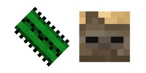 Minecraft Cactus and Husk Curseur