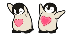 Cute Penguin Cursor