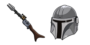 Star Wars Mandalorian Amban Phase-Pulse Blaster Cursor