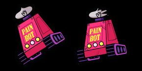 Teen Titans Go Pain Bot Cursor