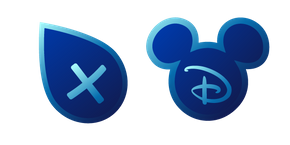 Disney + Curseur