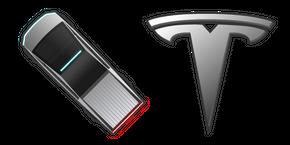 Курсор Tesla Cybertruck