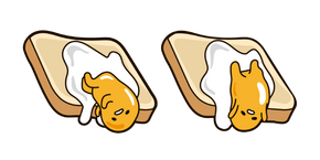 Gudetama on Toast Cursor