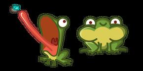 Курсор Cute Frog