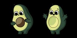 Cute Avocado Cursor