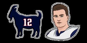 Tom Brady Cursor