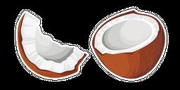 Brown Coconut Curseur