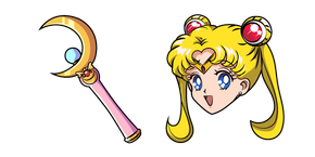 Sailor Moon Moon Stick Curseur