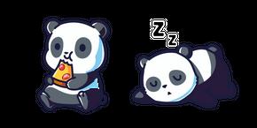Cute Panda Curseur