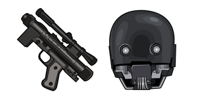 Star Wars K-2SO SE-14R Blaster Cursor