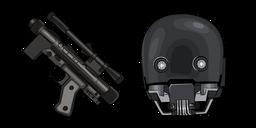 Star Wars K-2SO SE-14R Blaster Cursor