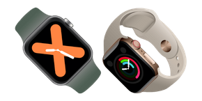 Apple Watch Series 5 Curseur