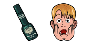 Курсор Home Alone Kevin and Aftershave Lotion