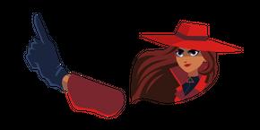 Carmen Sandiego Curseur