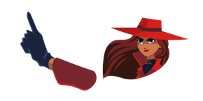 Carmen Sandiego Cursor
