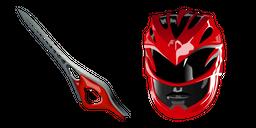 Power Rangers Red Ranger Sword Cursor