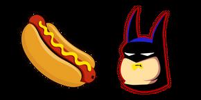 Batman Eats a Hotdog Meme Curseur