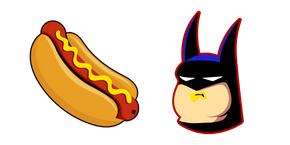 Курсор Batman Eats a Hotdog Meme