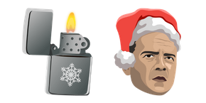 Курсор Die Hard Christmas McClane and Lighter