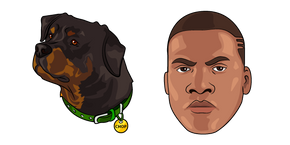 GTA 5 Franklin and Chop Cursor