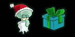 Squidward Santa Curseur