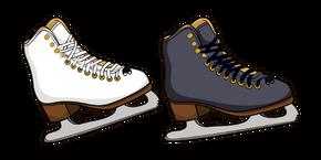 Курсор Figure Skates