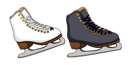 Figure Skates Cursor