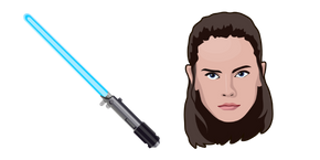 Star Wars Rey Skywalker Lightsaber Cursor