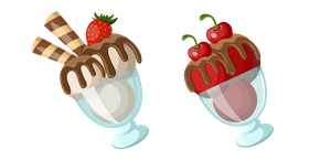 Ice Cream Dessert Cursor