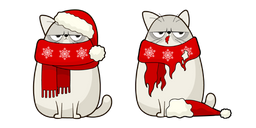 Christmas Cat and Costume Curseur