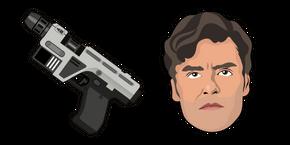 Star Wars Poe Dameron Glie-44 Blaster Pistol Cursor