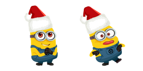 Christmas Minions Cursor