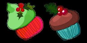 Christmas Aquarelle Cake Cursor