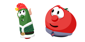 VeggieTales Christmas Larry and Bob Curseur