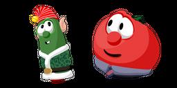 VeggieTales Christmas Larry and Bob Curseur
