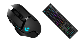 Курсор Logitech Gaming G502 Mouse and G513 Keyboard
