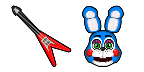 Five Nights at Freddy's Toy Bonnie Cursor