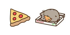 Курсор Pusheen and Pizza